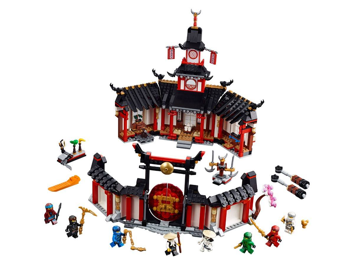 Lego Klasztor Spinjitzu
