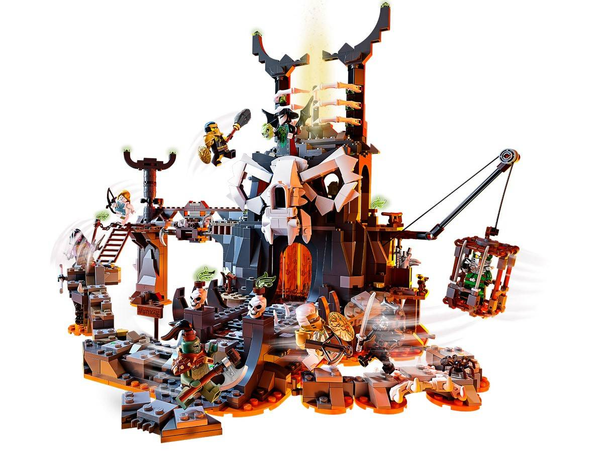 Lego Klocki Lochy 71722